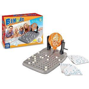 Jogo De Bingo Bingao 100 Cartelas Brinquedos Nig
