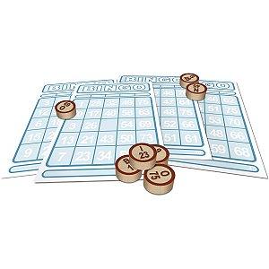 Jogo De Bingo Bingo De Pedras De Madeira Xalingo