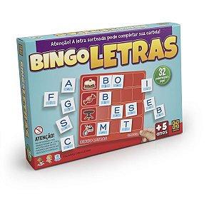 Jogo De Bingo Bingo Letras 5 A 8 Anos Grow