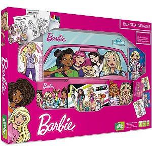 Jogo De Cartas Barbie Box De Atividades Copag