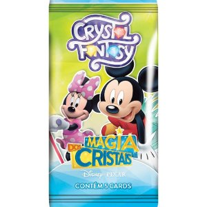 Jogo De Cartas Cristal Fantasy Magia Disney Copag