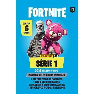 Jogo De Cartas Fortnite Serie 1 Env.c/6 Cards Panini