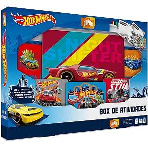 Jogo De Cartas Hotwheels Box De Atividades Copag