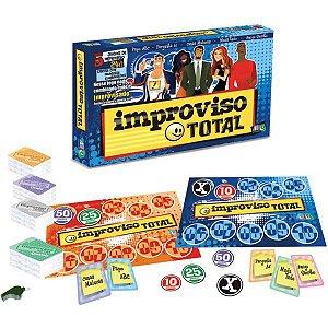 Jogo De Cartas Improviso Total 240 Cartas Brinquedos Nig