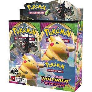 Jogo De Cartas Pokemon Booster Voltagem Vivid Copag