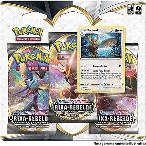 Jogo De Cartas Pokemon Ee2 Rixa Rebelde Copag
