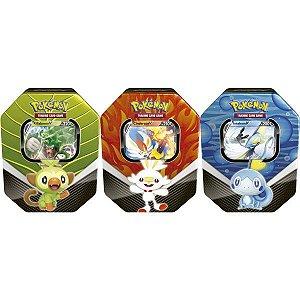 Jogo De Cartas Pokemon Lata Parceiro De Galar Copag