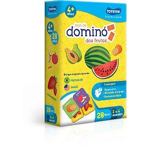 Jogo Diverso Domino Das Frutas Toyster