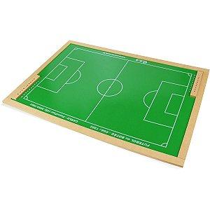 Jogo Diverso Futebol De Botao Mdf 63X92Cm Carlu