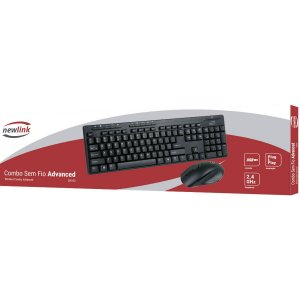 Kit Perifericos Advanced Mouse/tecl. S/fio Pto Newex