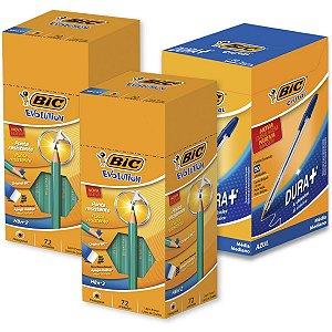 Kit Promocional Evolution C/72 2Cx+1Cx Cris.az Bic