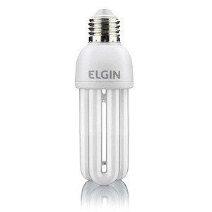 Lampada Fluorescente 20W 3U 127V 6000 Horas Branca Elgin