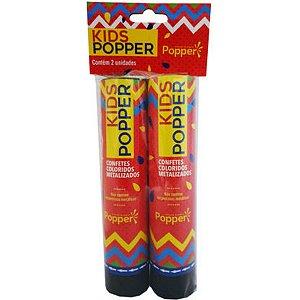 Lancador De Confete Kids Popper 21Cm Popper