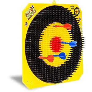Lancador Alvo Certo C/4 Dardos Cardoso Toys