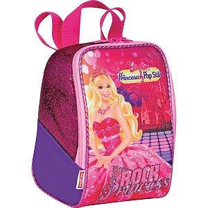 Lancheira Termica Com Garrafa Barbie Sortidas Sestini