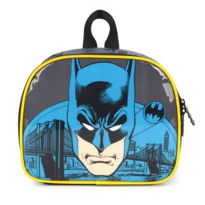 Lancheira Termica Batman Mao/costas Preto Luxcel