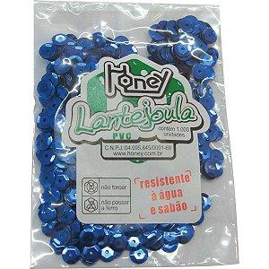 Lantejoula Metalizada Azul N.06 C/1000Unid. Honey