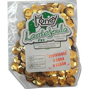 Lantejoula Metalizada Ouro N.08 C/1000Unid. Honey