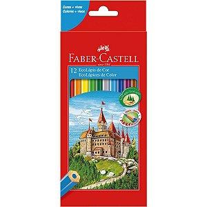 Lapis De Cor Sextavado Ecolapis 12 Cores S/kit Faber-Castell