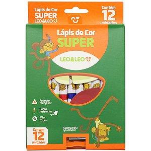 Lapis De Cor Triangular Leo E Leo 12Cores Super Leonora