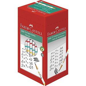 Lapis Preto Redondo Decorado Ecolapis Tabuada Fantasia Faber-Castell