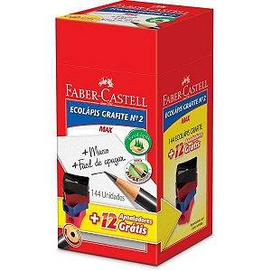 Lapis Preto Redondo Ecolapis 1205 +12 Apont.gratis Faber-Castell