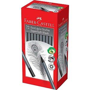 Lapis Preto Redondo Ecolapis Supersoft Black Faber-Castell