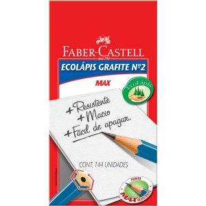 Lapis Preto Sextavado Ecolapis Max Faber-Castell