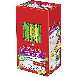 Lapis Preto Triangular Ecolapis Regua Sortidos Faber-Castell