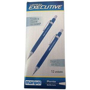 Lapiseira 0.5Mm Executive Metal Azul Maripel