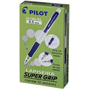 Lapiseira 0.5Mm Supergrip 0.5 H-185 Azul Pilot