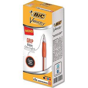 Lapiseira 0.5Mm Velocity Grip C/borracha Sort. Bic