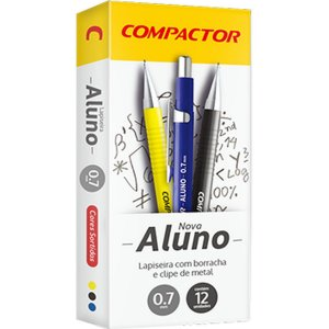 Lapiseira 0.7Mm Aluno 0.7 Metalica Compactor