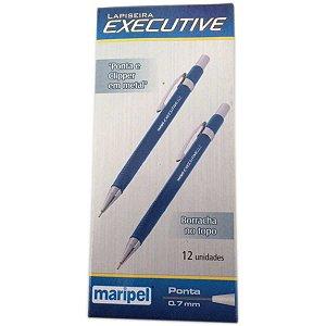 Lapiseira 0.7Mm Executive Metal Azul Maripel