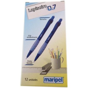 Lapiseira 0.7Mm Maripel Azul Maripel