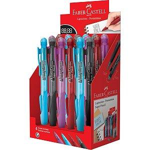 Lapiseira 0.7Mm Super Pencil Mix Cores Sort. Faber-Castell