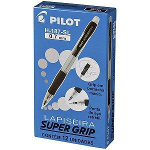 Lapiseira 0.7Mm Supergrip H-187 Preta Pilot