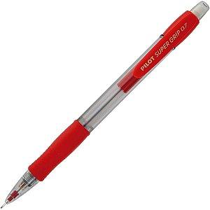 Lapiseira 0.7Mm Supergrip H-187 Vermelha Pilot