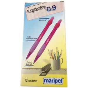 Lapiseira 0.9Mm Maripel Rosa Maripel