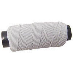 Lastex Branca Tubos C/10M. Coats Corrente