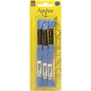 Linha Bordar Anchor Mouline 00130 Coats Corrente