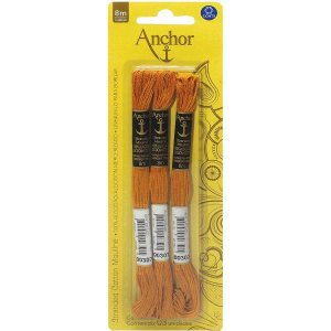 Linha Bordar Anchor Mouline 00307 Coats Corrente