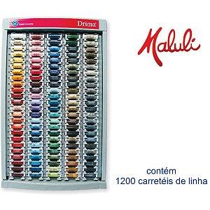 Linha Corrente Drima Display Completo 120 Cores Coats Corrente