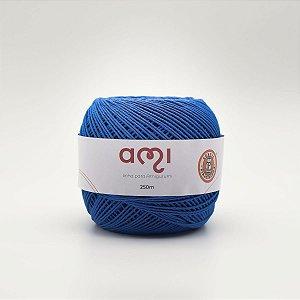 Linha Para Croche 130G 8/7 Fios 250M Ami Az.roya Barb. Piratininga