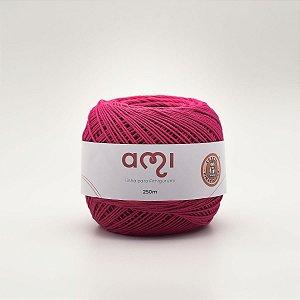 Linha Para Croche 130G 8/7 Fios 250M Ami Pink Barb. Piratininga