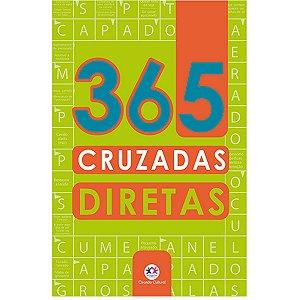 Livro Atividades 365 Cruzadas Diretas Ciranda