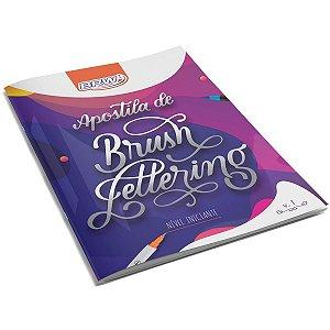 Livro Atividades Apostila Brush Lettering Inici Brw