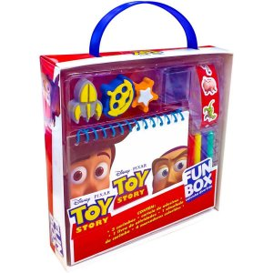 Livro Atividades Toy Story 3 Fun Box C/ades/car Dcl