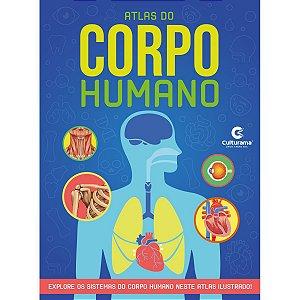 Livro Atlas Corpo Humano 32Pgs Culturama
