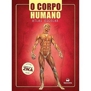 Livro Atlas Corpo Humano Escolar 32Pgs Vale Das Letras
